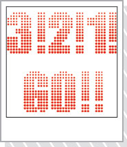 オンラインショッピング「3!2!1!GO!」 カラー・レッド
