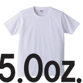 5.0oz Tシャツ
