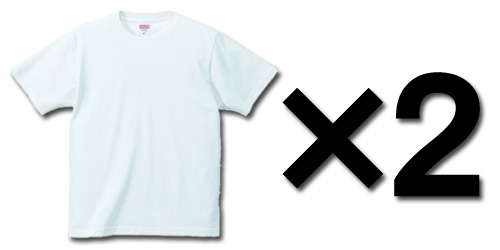 Tシャツ2枚で送料無料