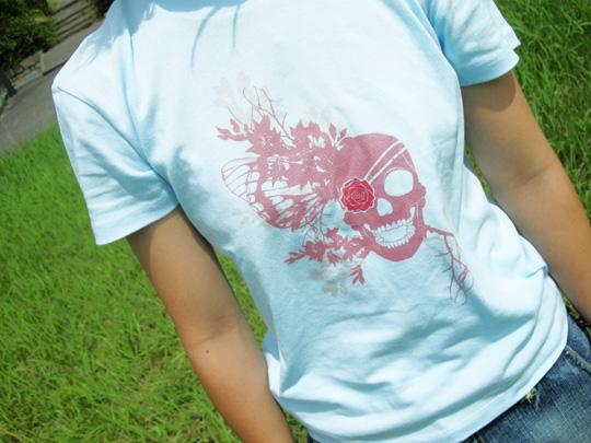 髑髏Tシャツ 写真