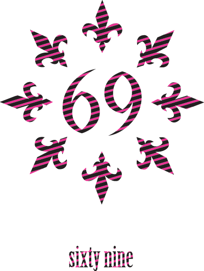 百合紋章と69-sixty nine- イラストレーターオリジナルデザイン