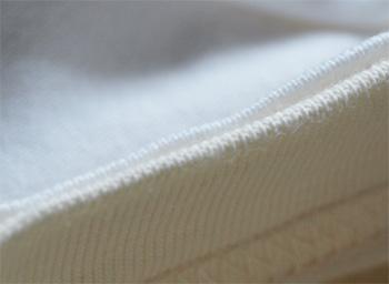 Tシャツの編み方 拡大写真
