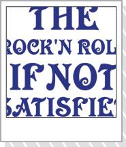 ネットで買い物。ロックTシャツ! DRINK Blue