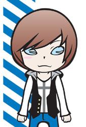 男の子キャラクター「ENERGETIC」カラフルブルー