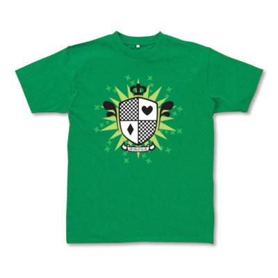 グリーンエンブレム 半袖Tシャツ