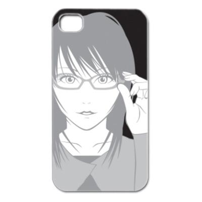 眼鏡ガールデザイン iPhoen4