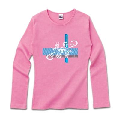 ロゴデザインロングTシャツ