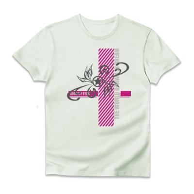 デザインTシャツ LOOK BY EYES