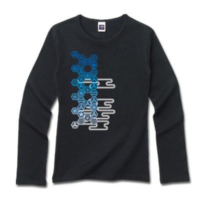 和家紋 ロングTシャツ ファッション