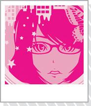 女の子イラストグッズ「PRETTY GIRL」pink
