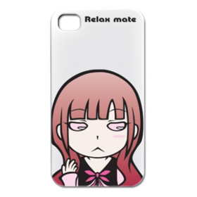 iPhone4/3G/3GS対応シェルカバー「Relax mate09」
