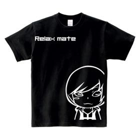 オリジナルキャラTシャツ「リラックスメイト03」白