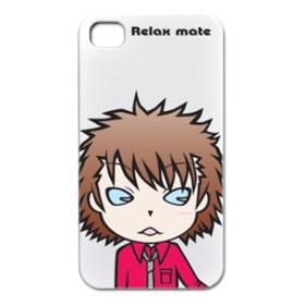 iPhoneケース 男の子キャラクター「Relax mate 07」