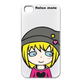 キュートなキャラクター「Relax mate 06」アイフォンカバー