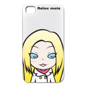 キャラクターケース「Relax mate03」iPhone4/3G/3GS