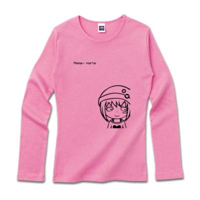 長袖シャツ キャラクターイラスト