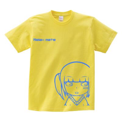 キャラプリント イエローTシャツ