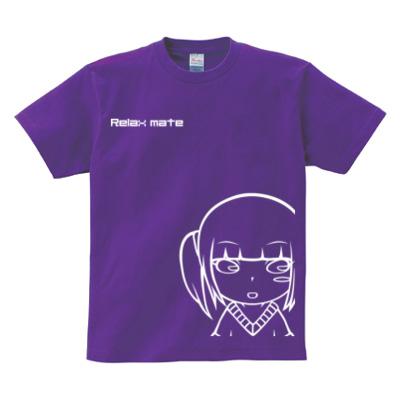 ツインテキャラプリント 半袖Tシャツ