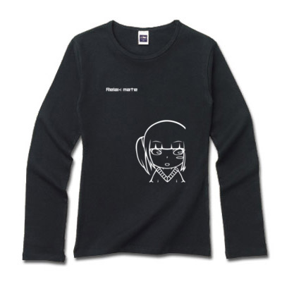 キャライラスト 長袖シャツ