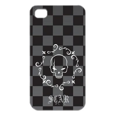 ドクロデザインiPhone4カバー