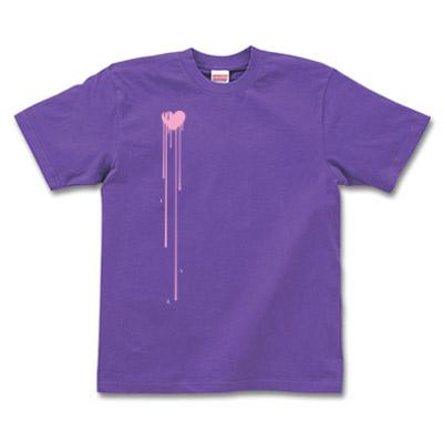 ハートグラフィックTシャツ