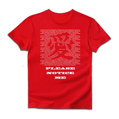 文字Tシャツ 愛