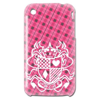 iPhone3GS チェック模様 カバー