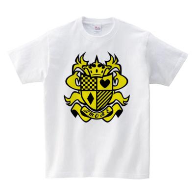 エンブレムデザインTシャツ