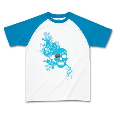 髑髏ラグランTシャツ 販売用