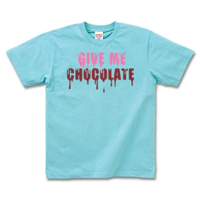 Tシャツ チョコレートデザイン