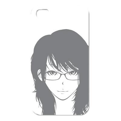 メガネっ娘イラスト iphoneカバー