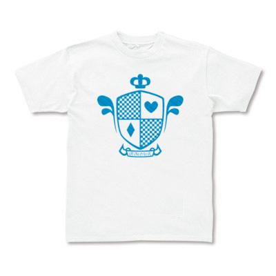 半袖Tシャツホワイトカラー エンブレムロゴ