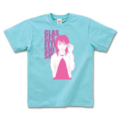 Tシャツ 女の子イラストプリント
