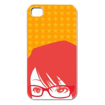 iPhone4 メガネの女の子