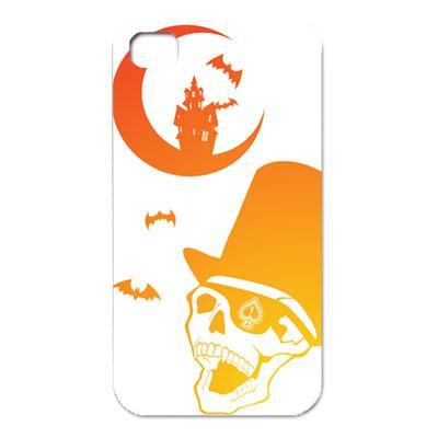 iPhone4S スカルカバー