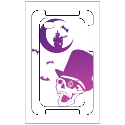 iPhoneカバー skull