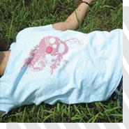 髑髏Tシャツ