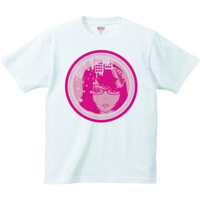 女の子イラストTシャツ