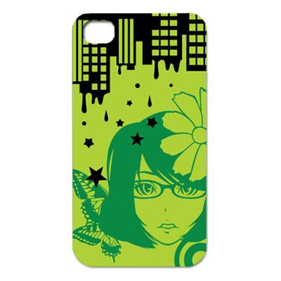 pretty girl green2