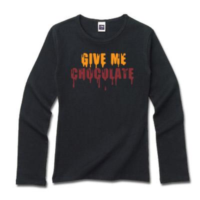 文字デザインロングTシャツ