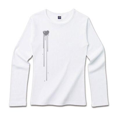 プリント ロングTシャツ