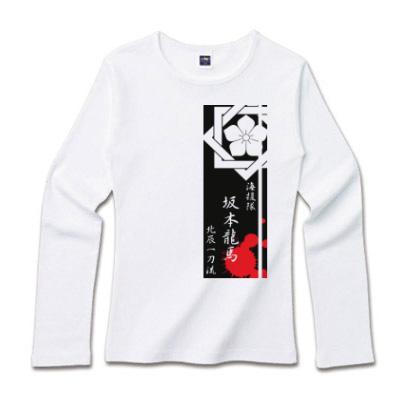 Tシャツ通販「かいえんたい さかもとりょうま」黒赤 ロンティ