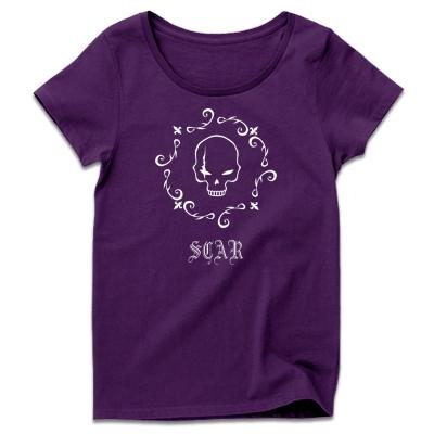 髑髏デザイン レディースTシャツ 通販