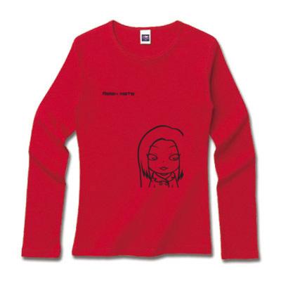 キャラクターロングTシャツ レッド