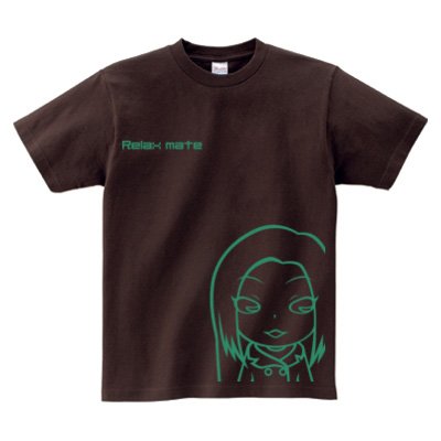 Tシャツデザイン 三頭身キャラクター