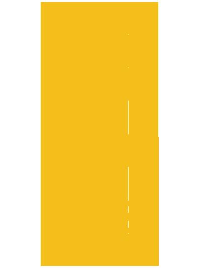 ROCK'ROLLデザイン オレンジタイポグラフィ