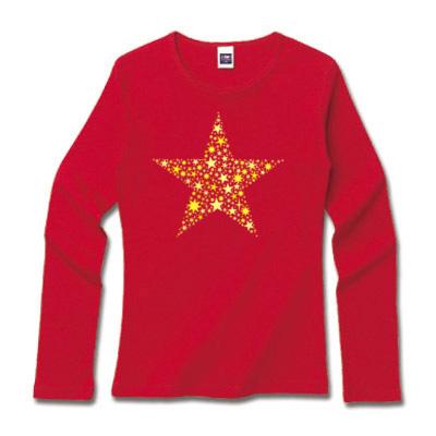 星ロングTシャツ オリジナルグッズ