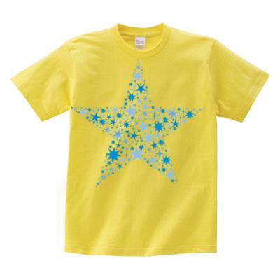 スターイラストTシャツ