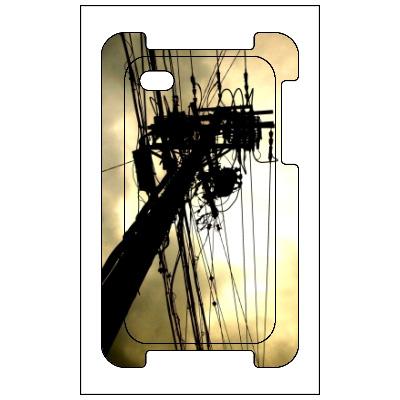 iPhone4s/4カバー Utility pole