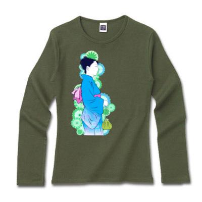 長袖Tシャツ YUKATA Illust